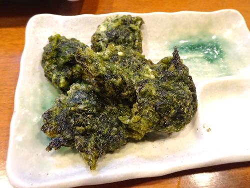 57青のり天ぷら