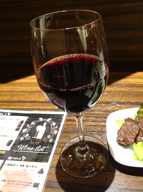 43赤ワイン400