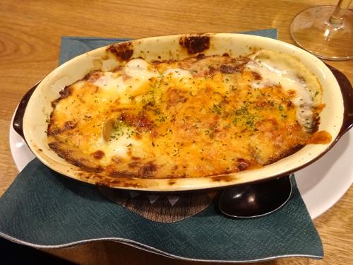 22濃厚クリームチーズのハムとキノコクリーミーグラタン