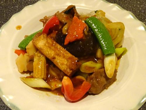 52揚げ豆腐辛味煮