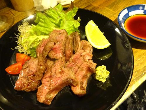 47黒毛和牛ツラミ炙り焼き