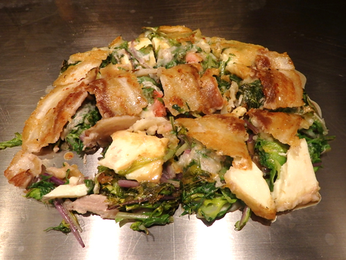 07水菜の洋食焼