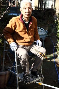 手作り 釣りの椅子