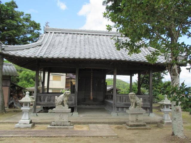 八幡神社 松沢
