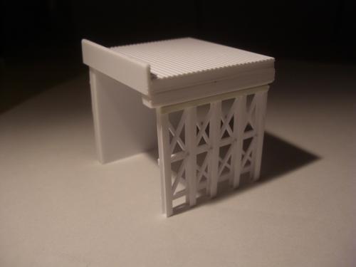 ロックシェッド 鉄道模型 1