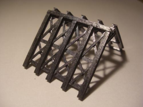 鉄道模型 ロックシェッド12