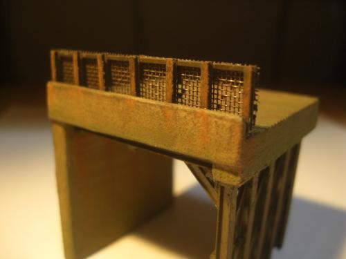 鉄道模型 ロックシェッド14