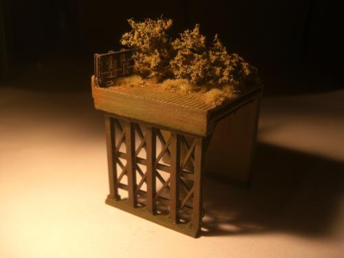 鉄道模型 ロックシェッド10