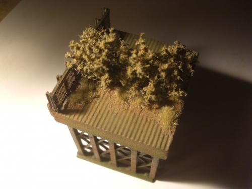 鉄道模型 ロックシェッド16