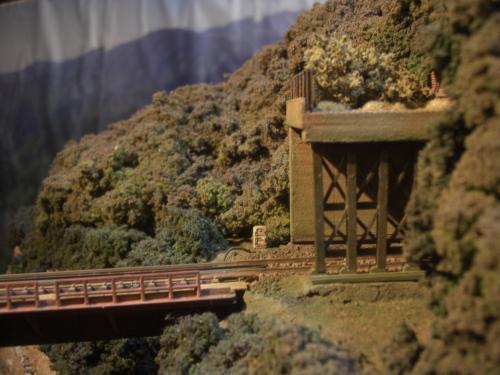 ロックシェッド 鉄道模型 4