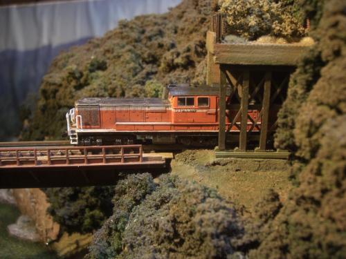ロックシェッド 鉄道模型 2