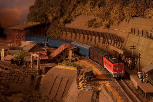 鉄道模型 昭和時代 ローカル線1