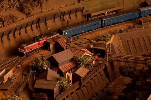 鉄道模型 昭和時代 ローカル線2