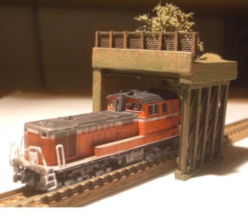 鉄道模型 ロックシェッド11