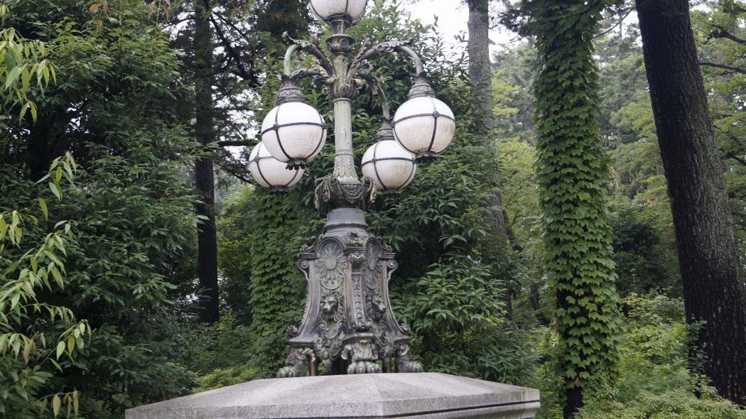 AAA照明ー1-東エリア裏 江戸東京たてもの園