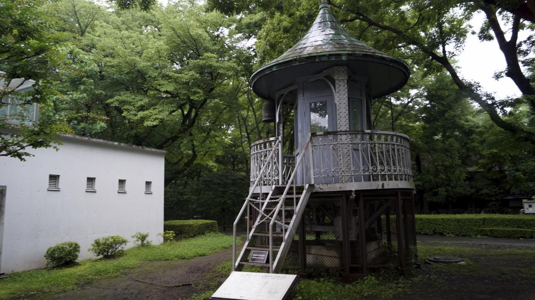 AAA塔ー2-東ゾーン裏 江戸東京たてもの園