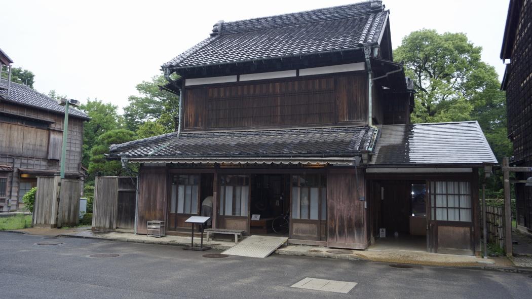 AAA川野商店≪和傘問屋)ー4-東ゾーン江戸東京たてもの園