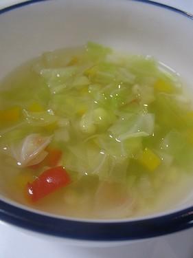 20150623 コンソメ野菜スープ