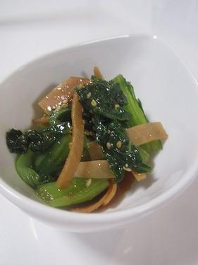 20150624 青梗菜のナムル