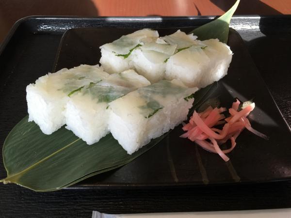 鯛の押寿司10