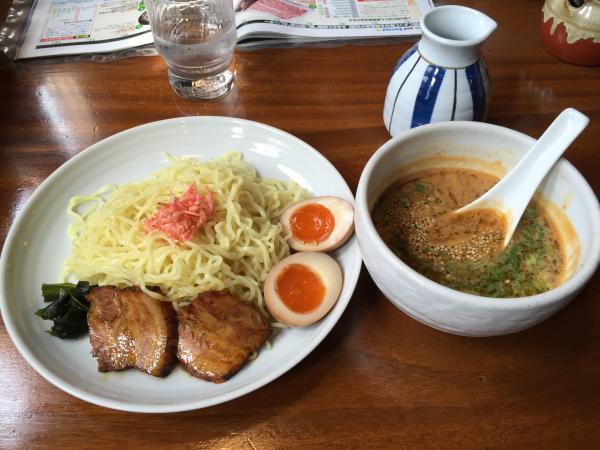 海老味噌つけ麺4