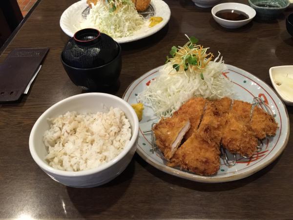 しお糀チキン定食4
