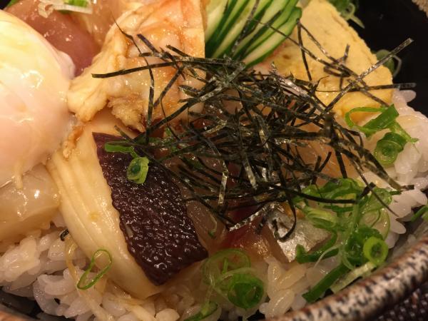 海鮮刺身丼7