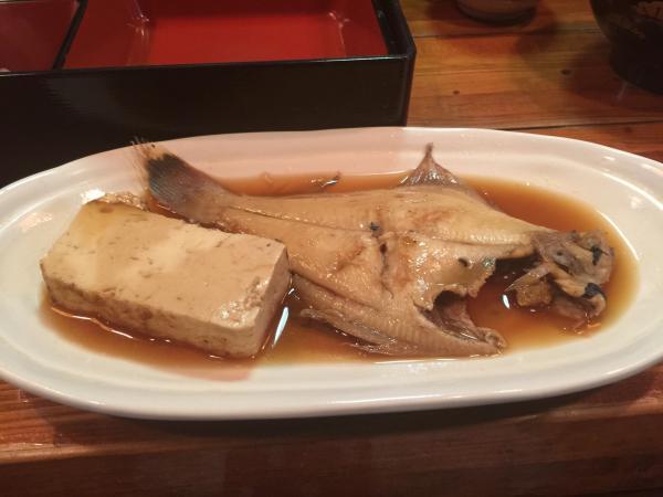 カレイと豆腐の煮付け6
