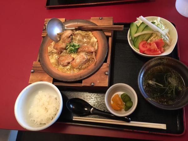 阿波尾鶏の柳川定食5