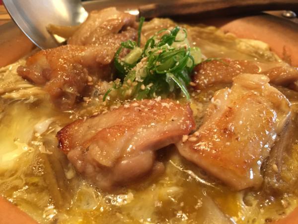 阿波尾鶏の柳川9