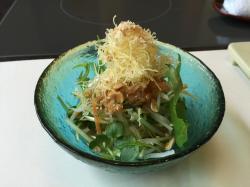豆腐サラダ6