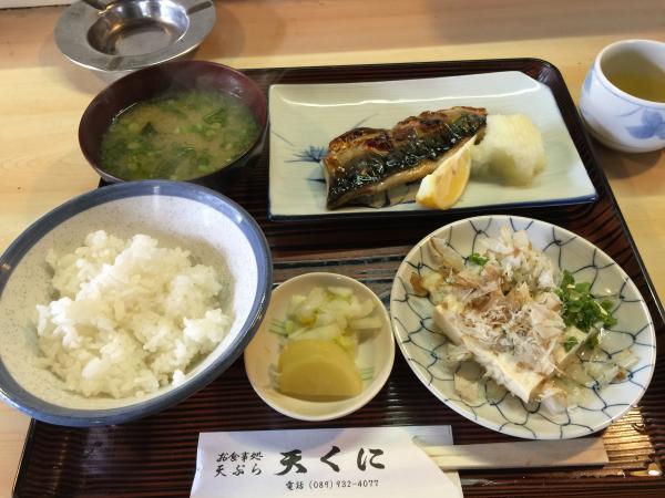 焼き鯖定食4