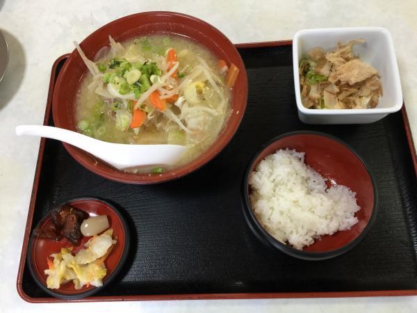 野菜いり豚汁定食5