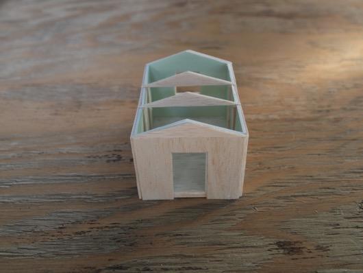 小屋の模型