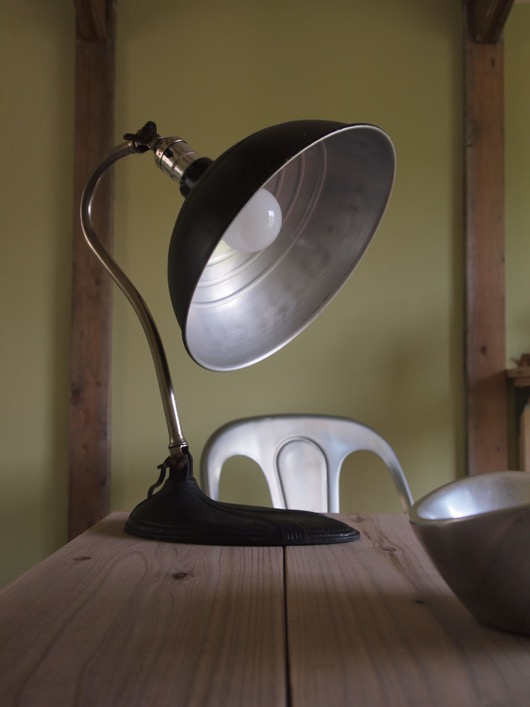 Vintage  Industrial Table Lamp
