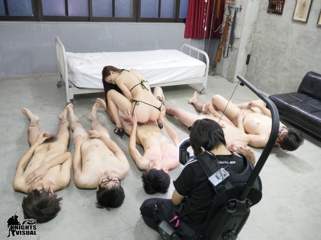 蓮実クレア135分間ノンストップ撮影007