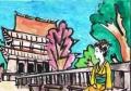 3金峯山寺蔵王堂