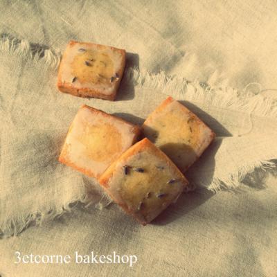 「ふゆのかけら」…【ラベンダーとアプリコットのクッキー】
