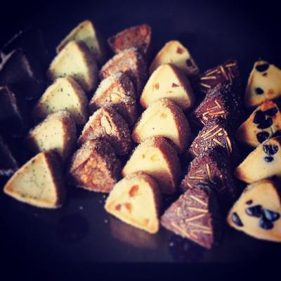 3 et corne なので… 三角クッキーなのです…