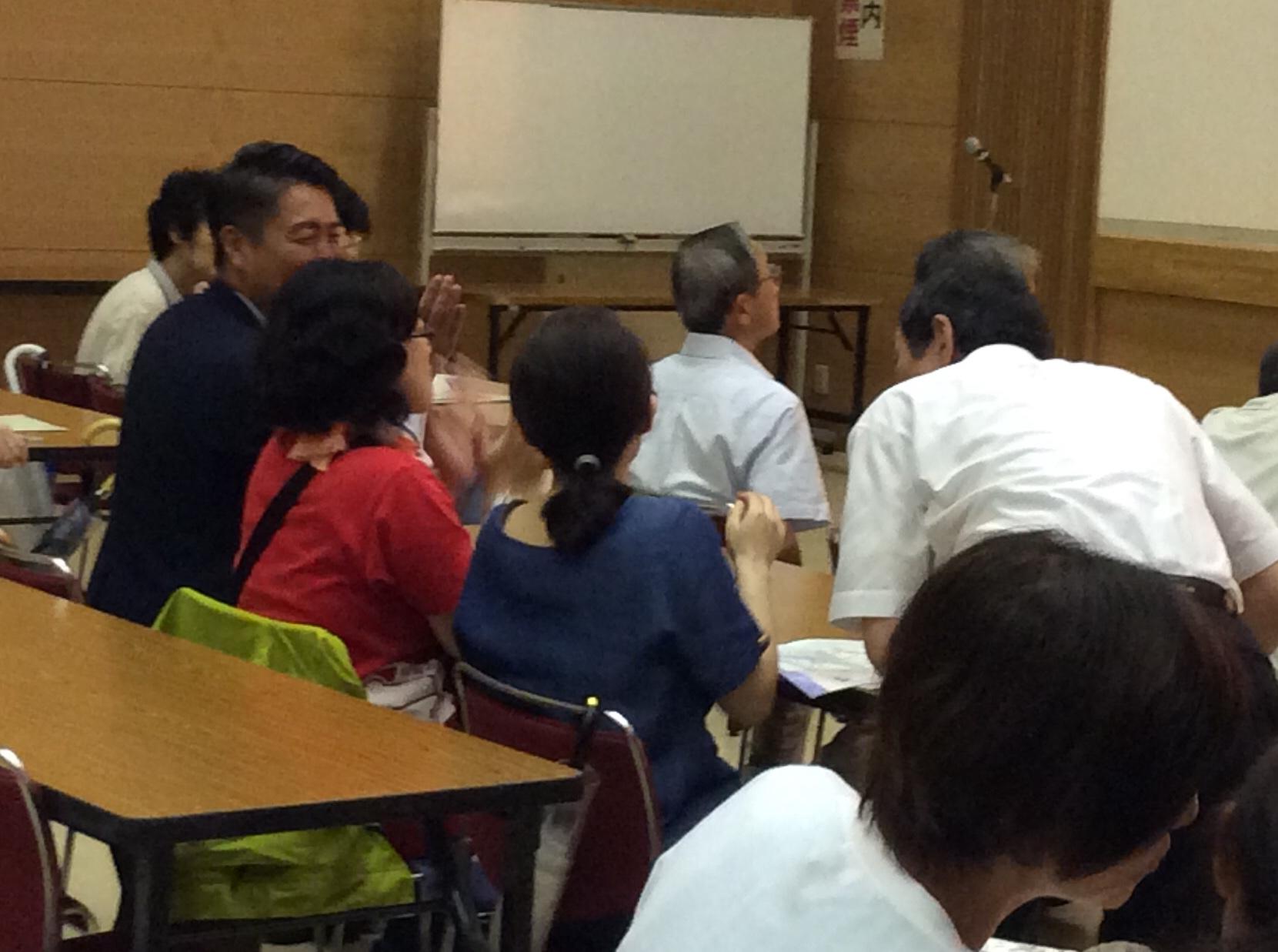 区民ホール清水ご夫婦・山田みのりさん