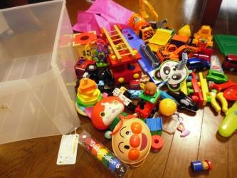 おもちゃを出す