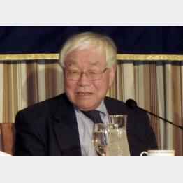 201504024内閣官房参与の浜田宏一・米エール大名誉教授