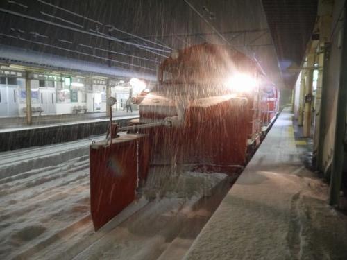 20140118赤い除雪車