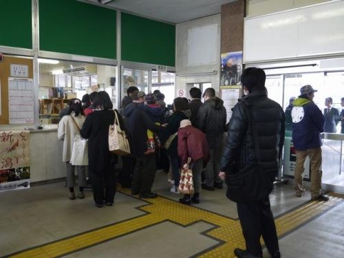新井駅混雑