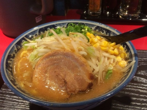 2015-05-12佐蔵の野菜みそラーメン