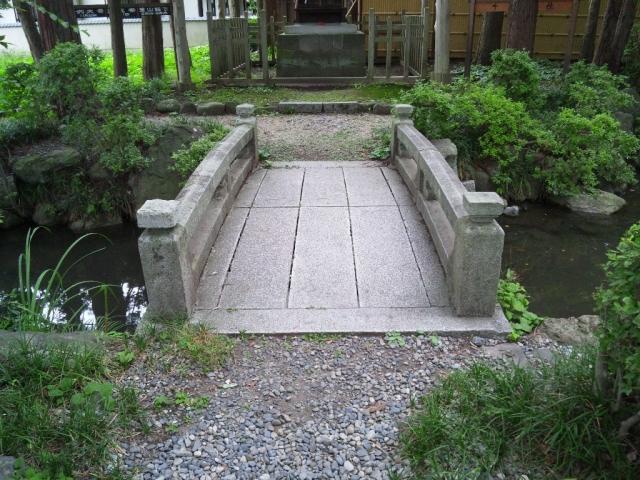千尋社の参道橋 (2)