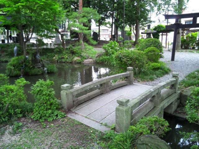 千尋社の参道橋 (3)