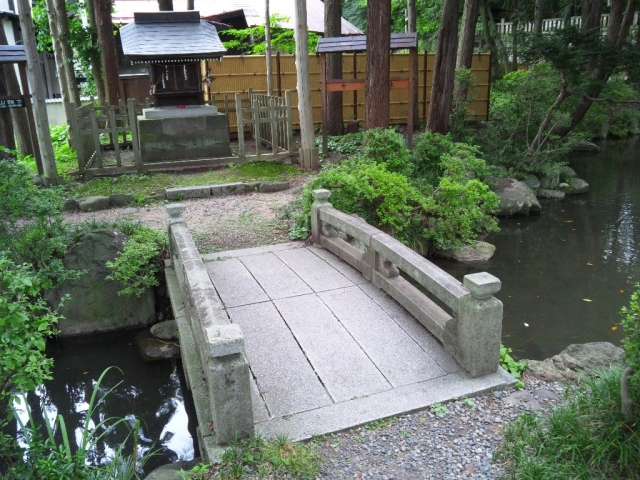 千尋社の参道橋 (5)
