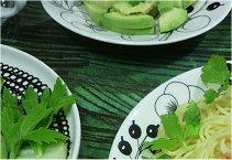 3-21 グリーンな夕ご飯