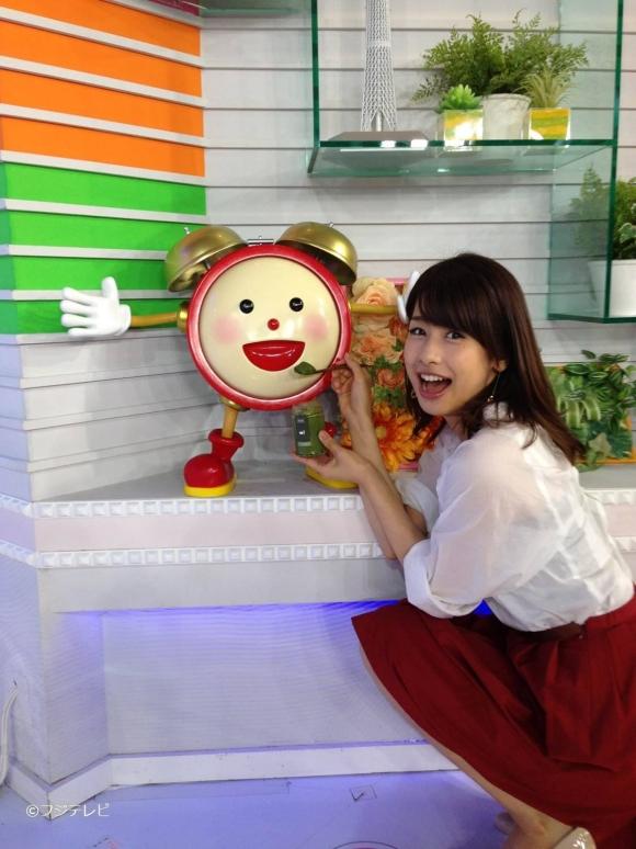 カトパン「めざましテレビ」卒業か!?昼の顔になってもエロさは維持して欲しい加藤綾子ちゃんのそそる画像集00.jpg